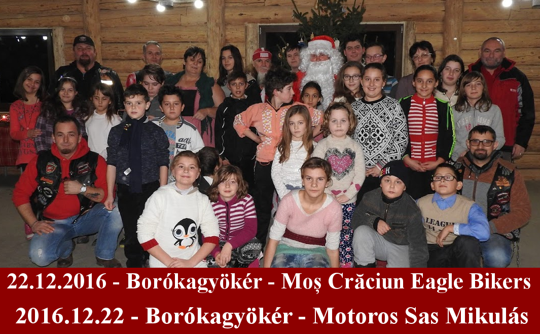 22.12.2016 Borókagyökér - Mos Craciun Eagle Bikers